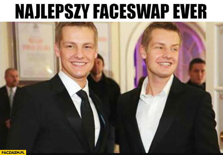 Najlepszy faceswap ever bracia Mroczek