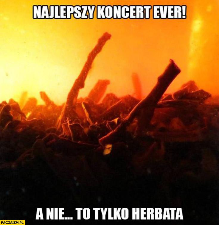 Najlepszy koncert ever a nie to tylko herbata