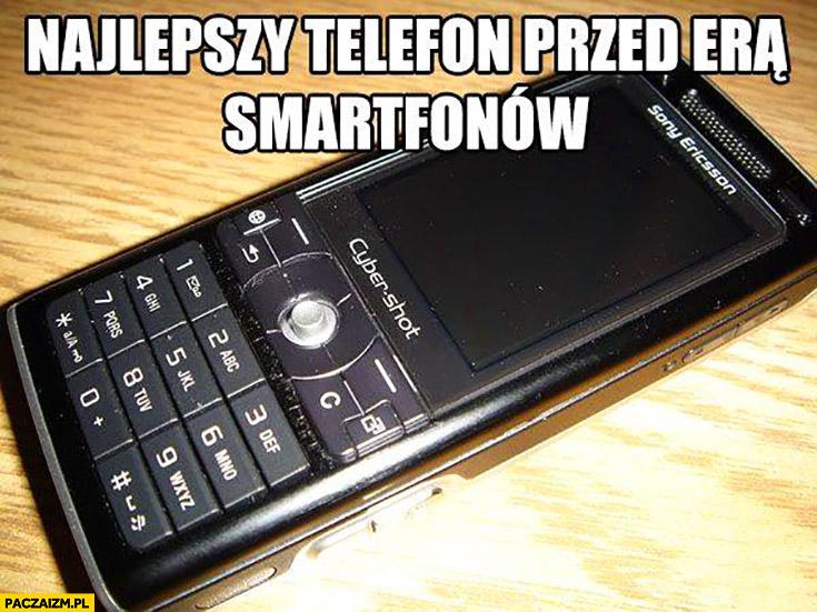 Najlepszy telefon przed era smartfonów SonyEricsson Cybershot