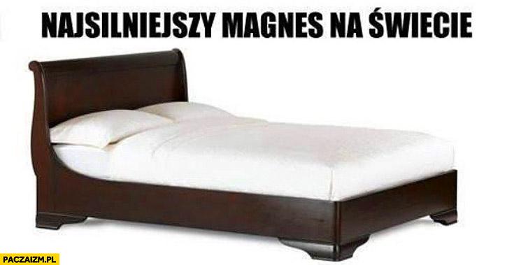 Najsilniejszy magnes na świecie łóżko
