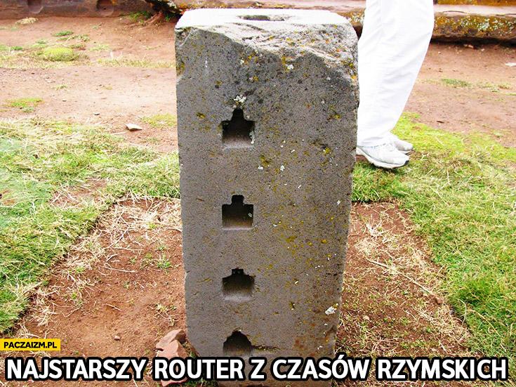 Najstarszy router z czasów Rzymskich