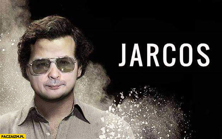 Narcos Jarcos Jarosław Kaczyński Pablo Escobar przeróbka