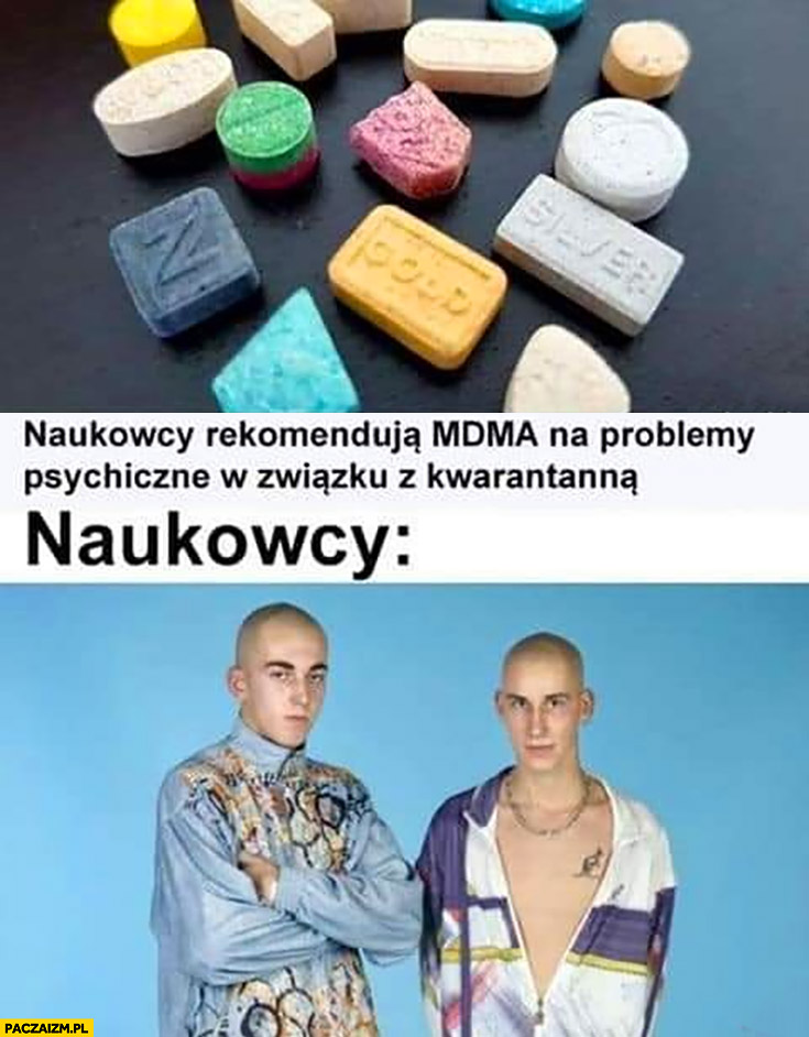 Naukowcy rekomendują MDMA na problemy psychiczne w związku z kwarantanna naukowcy sebiksy