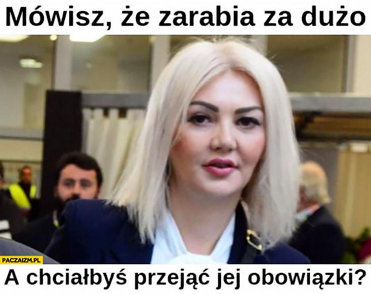 NBP Martyna Wojciechowska mówisz, że zarabia za dużo a chciałbyś przejąć jej obowiązki?