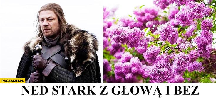 Ned Stark z głową i bez