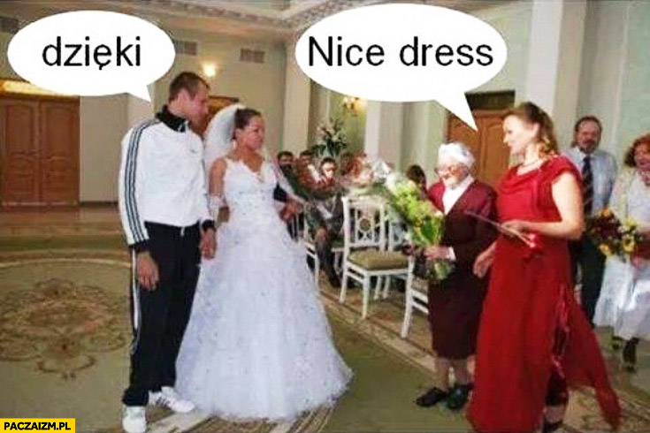 Nice dress dzięki w dresie na ślubie