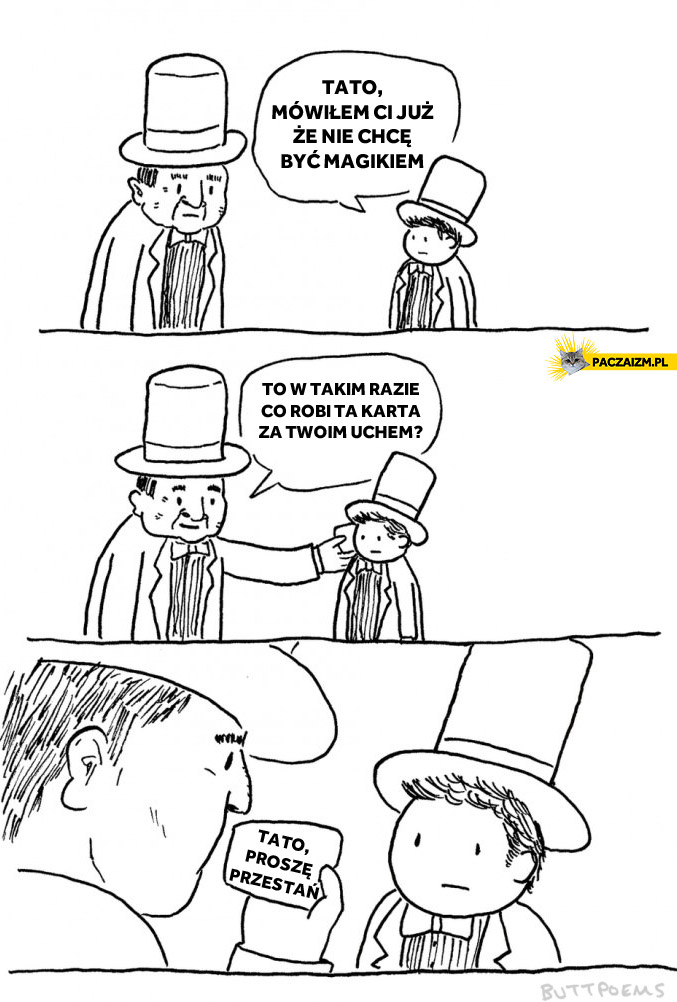 Nie chcę być magikiem