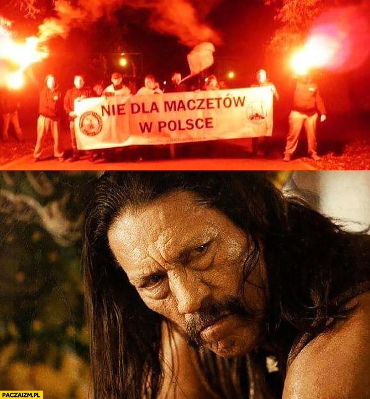 Nie dla Maczetów w Polsce meczetów Maczeta film