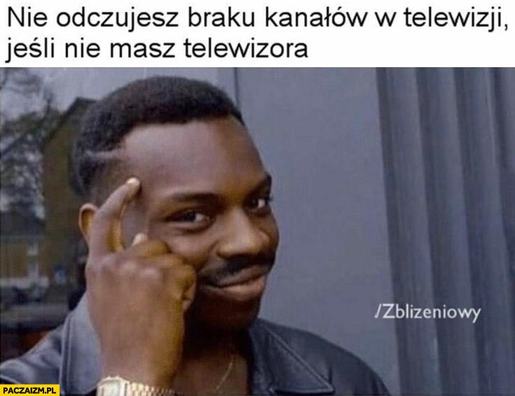 Nie odczujesz braku kanałów w telewizji jeśli nie masz telewizora
