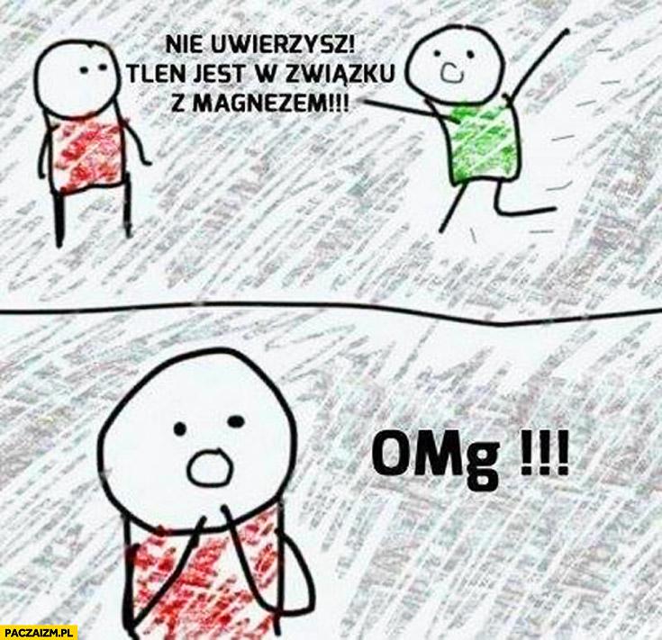 Nie uwierzysz tlen jest w związku z magnezem OMg