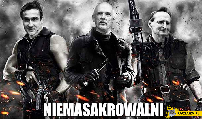 Niemasakrowalni Korwin Cejrowski Max Kolonko
