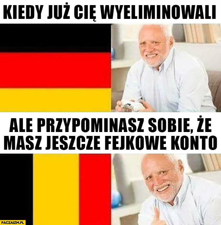Niemcy Belgia na mundialu kiedy już Cię wyeliminowali ale przypominasz sobie, że masz jeszcze fejkowe konto dziwny pan ze stocku