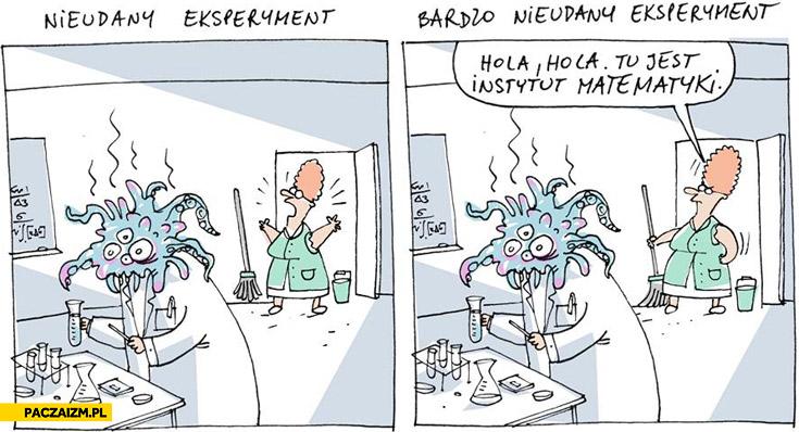 Nieudany eksperyment bardzo nieudany eksperyment Wilq