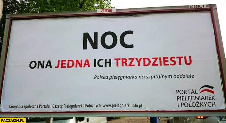 Noc ona jedna ich trzydziestu polska pielęgniarka billboard