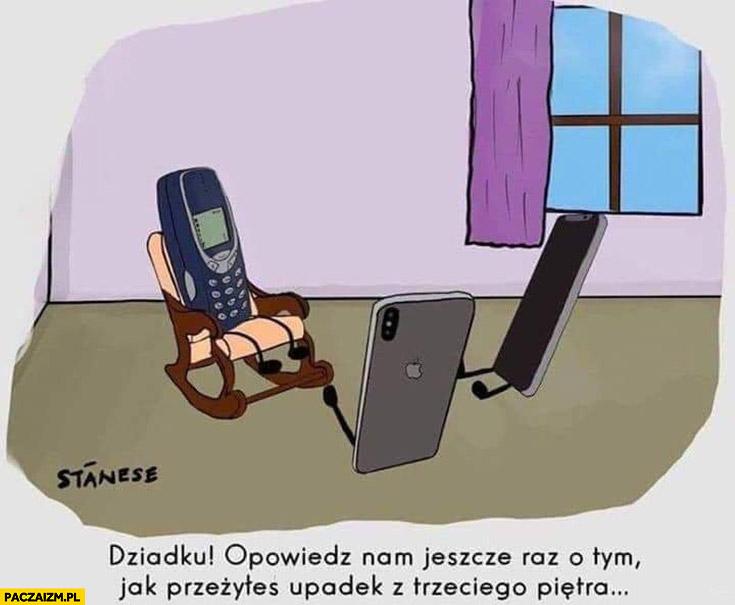 Nokia 3310 dziadku opowiedz nam jeszcze raz o tym jak przeżyłeś upadek z trzeciego piętra