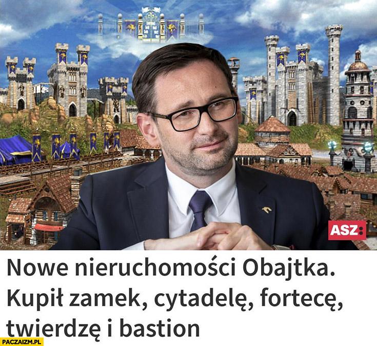 Nowe nieruchomości Obajtka: kupił zamek, cytadelę, fortecę, twierdzę i bastion