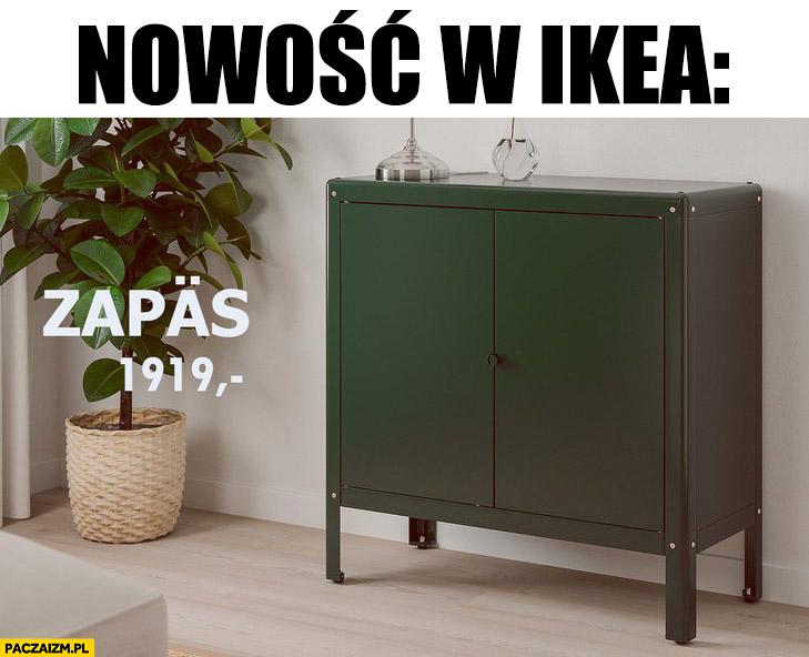 Nowość w Ikea szafka szafa pancerna zapas