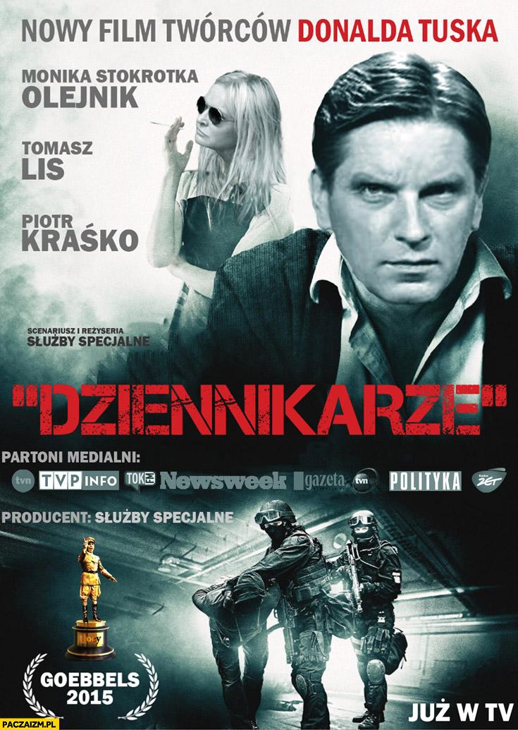 Nowy film twórców Donalda Tuska dziennikarze Olejnik Lis Kraśko