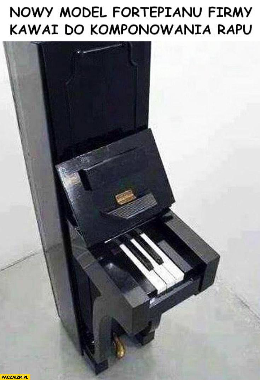Nowy model fortepianu do komponowania rapu 5 klawiszy