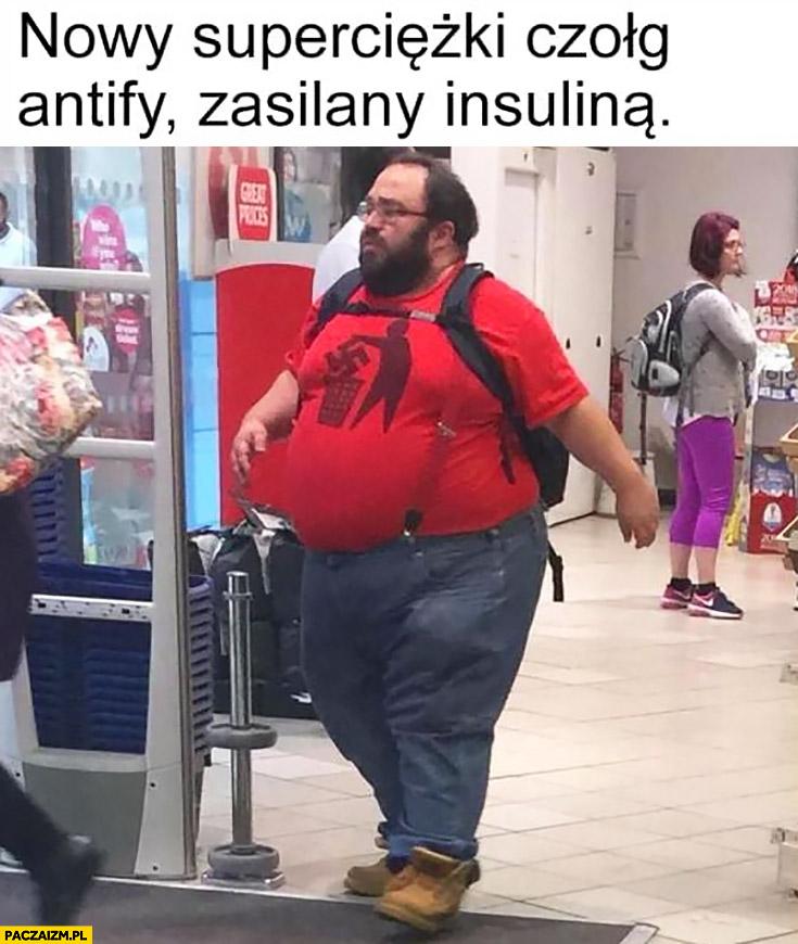 Nowy superciężki czołg Antify zasilany insuliną