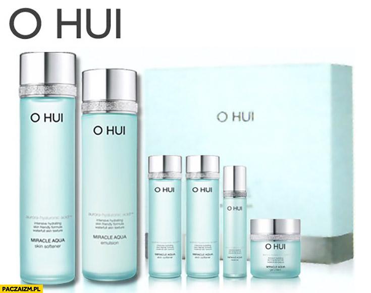 O hui perfumy