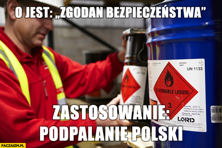 O jest zgodan bezpieczeństwa zastosowanie podpalanie Polski