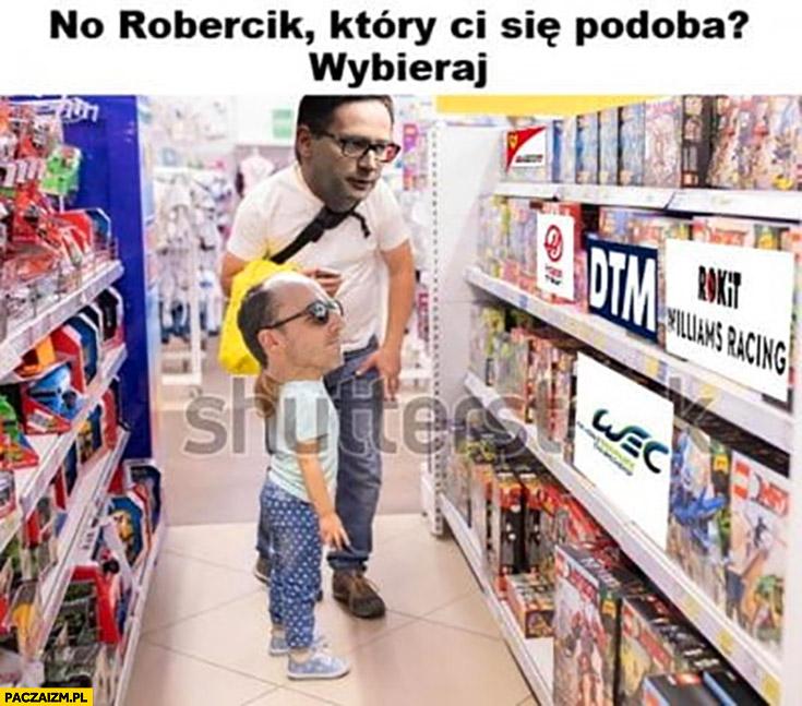 Obajtek Kubica w sklepie no Robert który team Ci się podoba wybieraj