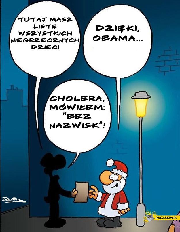Obama wydał dzieci