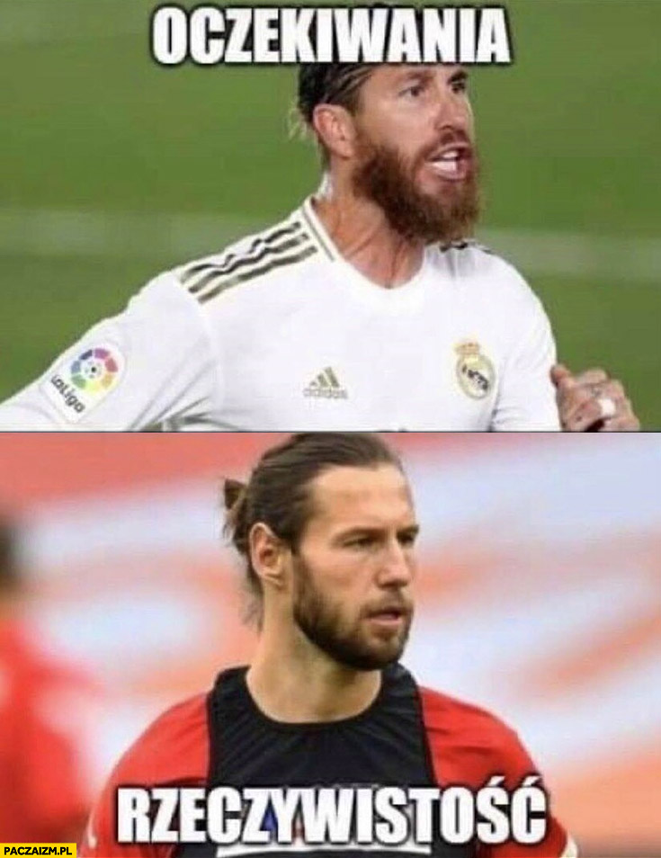 Oczekiwania Ramos rzeczywistość Krychowiak piłkarze