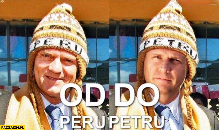 Od Peru do Petru Tusk