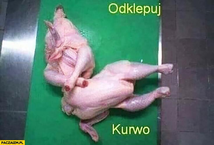 Odklepuj kurna kurczaki jakby walczyły na ringu