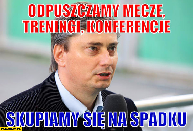 Odpuszczamy mecze, treningi, konferencje. Skupiamy się na spadku Lech Poznań Maciej Skorża