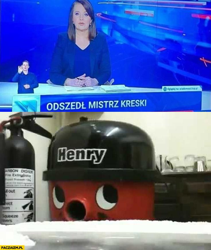 Odszedł mistrz kreski dosłownie ćpanie pasek Wiadomości TVP Papcio Chmiel