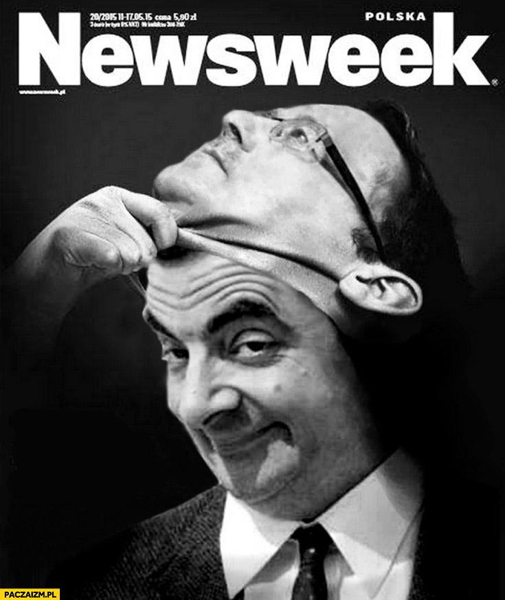 Okładka Newsweek Komorowski Jaś Fasola
