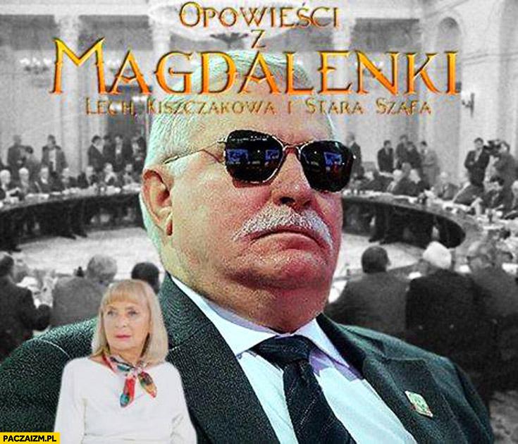 Opowieści z Magdalenki: Lech, Kiszczakowa i stara szafa Wałęsa Bolek