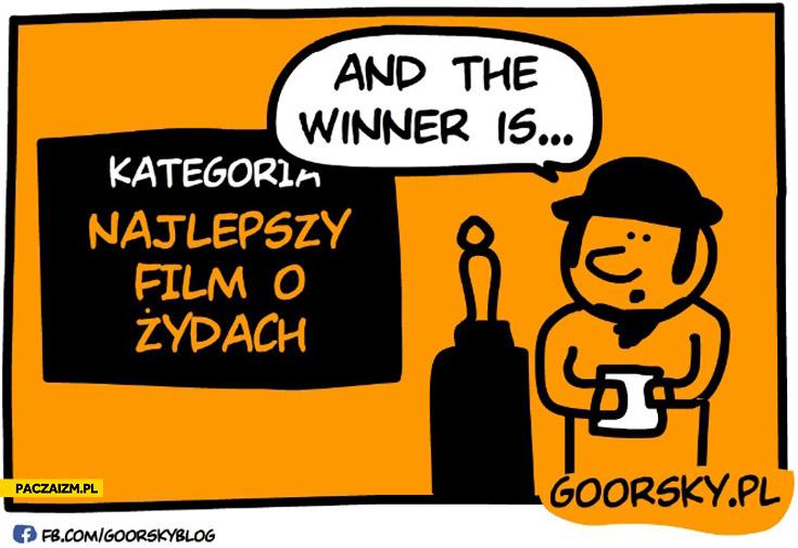Oscary kategoria najlepszy film o Żydach and the winner is Ida