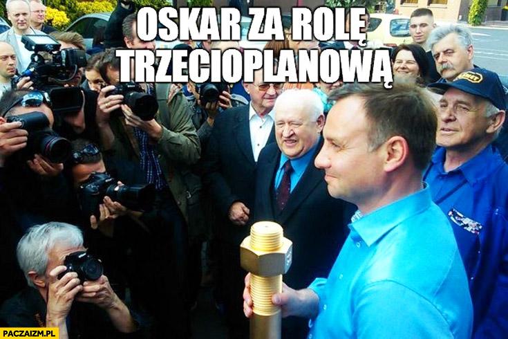 Oskar za role trzecioplanowa Andrzej Duda cenzoduda złota śruba