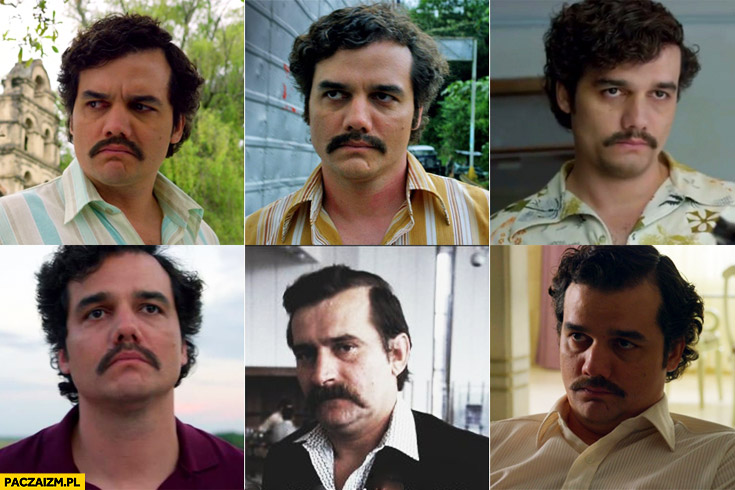 Pablo Escobar Narcos Lech Wałęsa Netflix