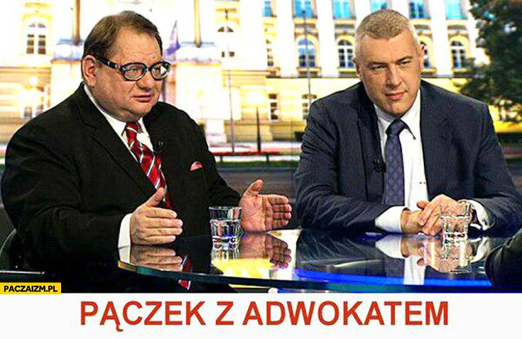Paczek z adwokatem Kalisz Giertych