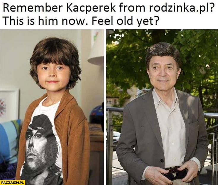 Pamiętasz Kacperka z rodzinka.pl? To on teraz, czujesz się staro?