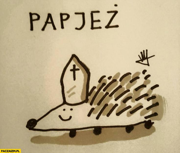Papjeż papież jeż