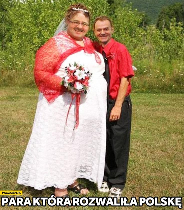 Para która rozwaliła Polskę Tusk Komorowski małżeństwo