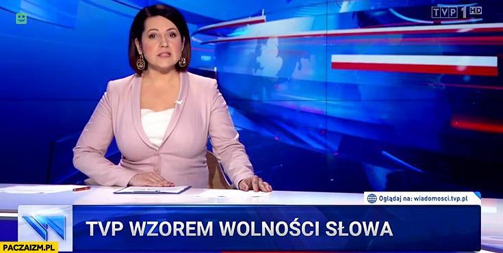 Pasek Wiadomości TVP wzorem wolności słowa