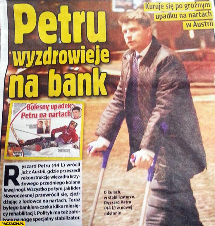 Petru wyzdrowieje na bank Super Express
