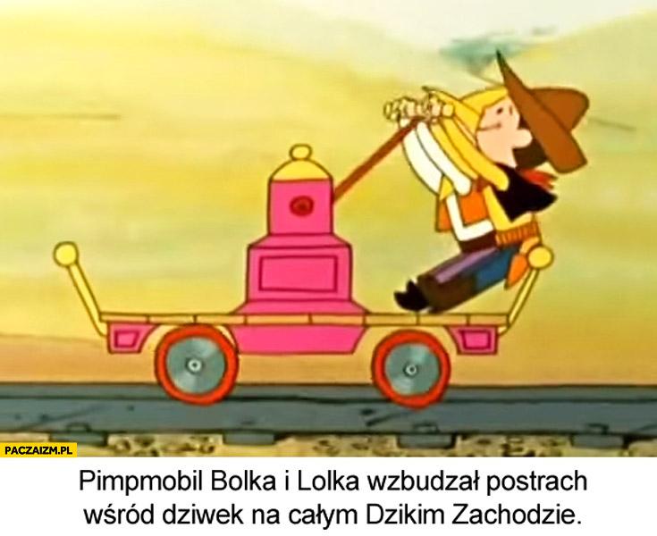 Pimpmobil Bolka i Lolka wzbudzał postrach na całym dzikim zachodzie