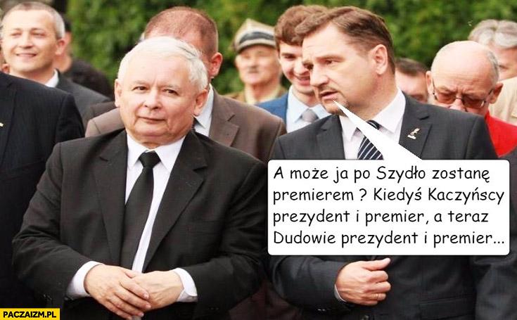 Piotr Duda a może ja po Szydło zostanę premierem? Kiedyś Kaczyńscy prezydent i premier a teraz Dudowie prezydent i premier