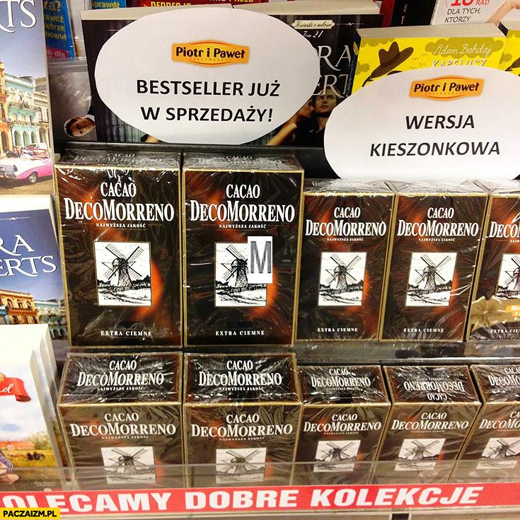 Piotr i Paweł bestseller już w sprzedaży Cacao DecoMorreno