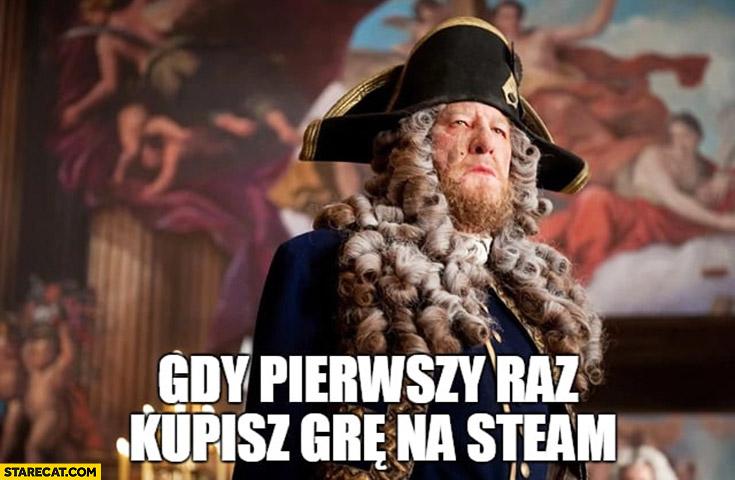Pirat kapitan gdy pierwszy raz kupisz grę na Steam