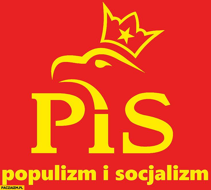 PiS populizm i socjalizm logo