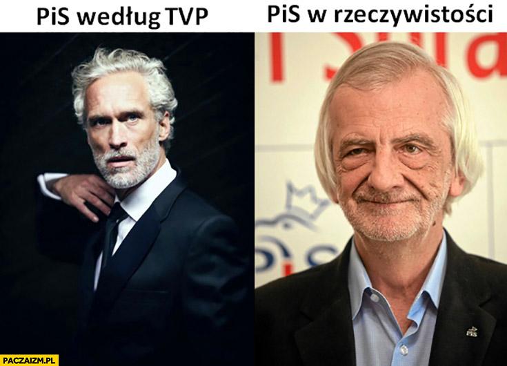 PiS według TVP vs PiS w rzeczywistości Terlecki